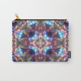 Crystal Cosmos Mandala Carry-All Pouch
