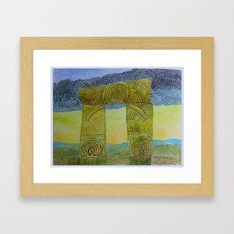 Rainmaker Door Framed Art Print