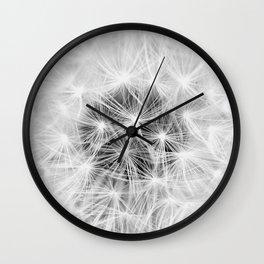 DANDELION DREAMS Wall Clock