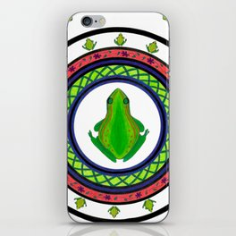 Circle of Life 6 / Frogs iPhone Skin