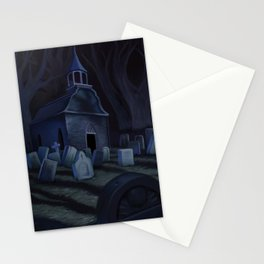 Sleepy Hollow Churchyard Cemetery Stationery Cards