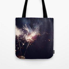 Sparkling light Tote Bag