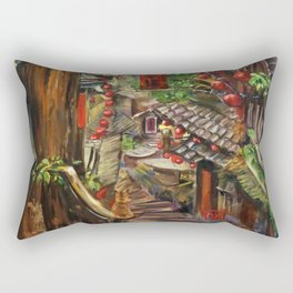 Jiufen Rectangular Pillow
