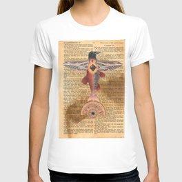 Sacred Heart Crow T-shirt