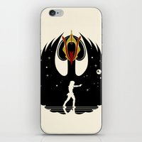 swan queen iPhone & iPod Skins featuring Queen Swan by zerobriant