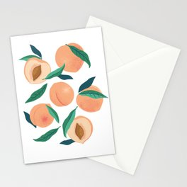 Peach or apricot  Stationery Cards