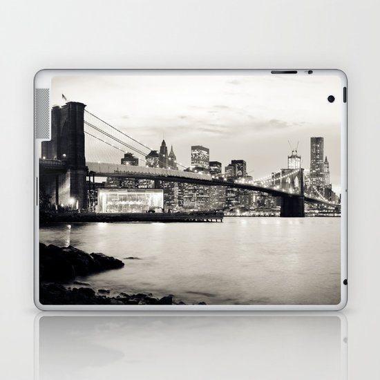 Brooklyn Bridge - New York City Laptop & iPad Skin