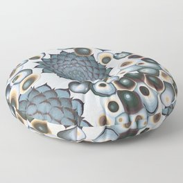 Ombre Succulents Floor Pillow