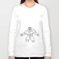 hulk Long Sleeve T-shirts featuring Hulk by Carrillo Art Studio