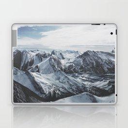 Snowy Mountains of Alberta Laptop & iPad Skin