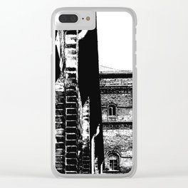Berlin Charme Clear iPhone Case