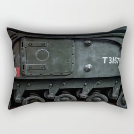 Sidehatch and Bogie Wheels Rectangular Pillow