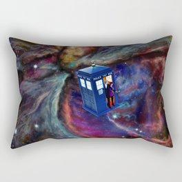 FLYING TARDIS Rectangular Pillow