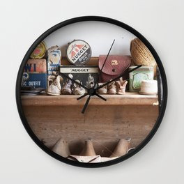 Old Shoe Shop Wall Clock