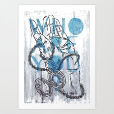 Something not to forget. Art Print
