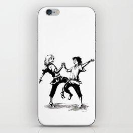 we shall dance iPhone Skin