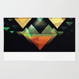 The Triangle collection  Rug