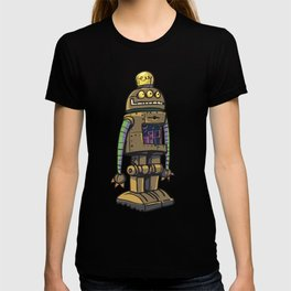 Robot with vacom tube T-shirt