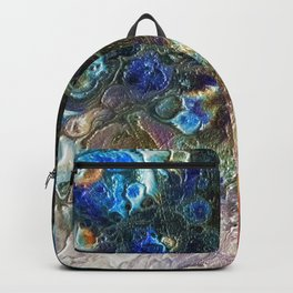 Currents 1 (Abstract Dachshund) Backpack