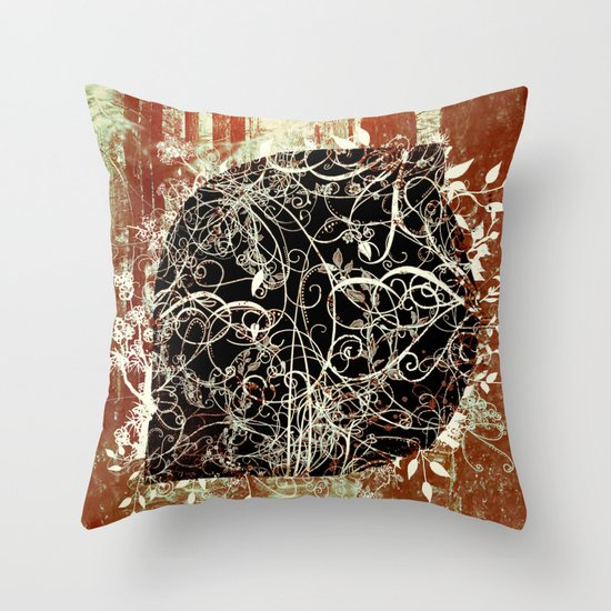 Let It Happen. Throw Pillow