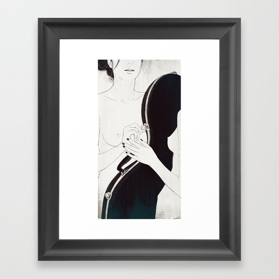 Duet. Pt.1 Framed Art Print