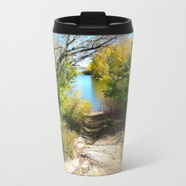 Down to the Lake Travel Mug