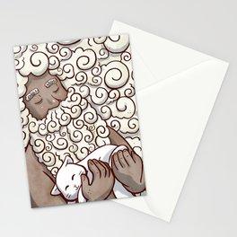 Cloud Beard Man Stationery Cards