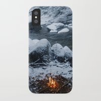 vermont iPhone & iPod Cases featuring Vermont Winter by Hudson Gardner