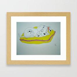 101 Dalmations Framed Art Print