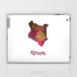 Kenya in watercolor Laptop & iPad Skin