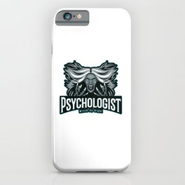 Halloween Psychologist Witch by night iPhone Case