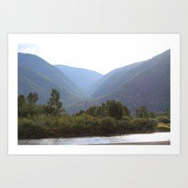 Similkameen River Art Print