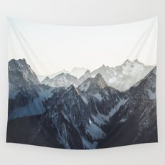 Mountain Mood Wall Tapestry