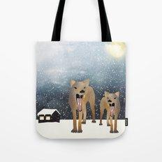 Coyotes Tote Bag