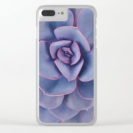 Purple Pearl Clear iPhone Case