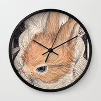 baby Wall Clocks featuring baby  by margaw