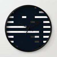 bug Wall Clocks featuring Bug by allan redd