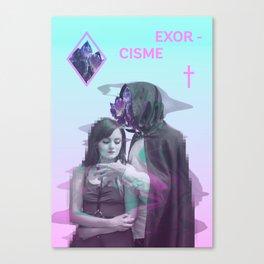 Exorcisme Canvas Print