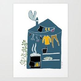 Sauna Art Print