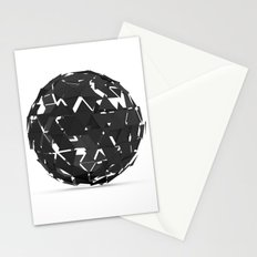 Geometric shape.3D Rendering Stationery Cards