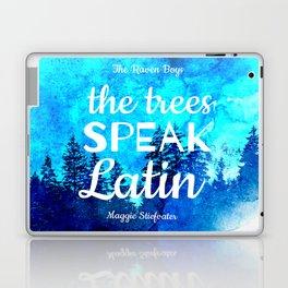 Trees Speak Latin (The Raven Boys) Laptop & iPad Skin