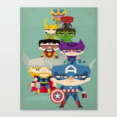 avengers 2 fan art Canvas Print