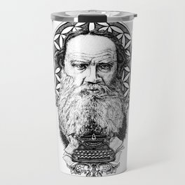 Tolstoy Travel Mug