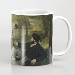 Luncheon on the Grass, Edouard Manet Coffee Mug