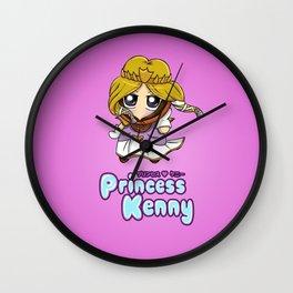Princess Kenny Wall Clock