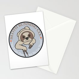 Sloth Running Co. Stationery Cards