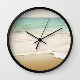 Ombre Beach Wall Clock