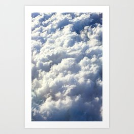 Pillow Skies Art Print