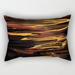 NASA Retro Space Travel Poster #12 - Titan Rectangular Pillow