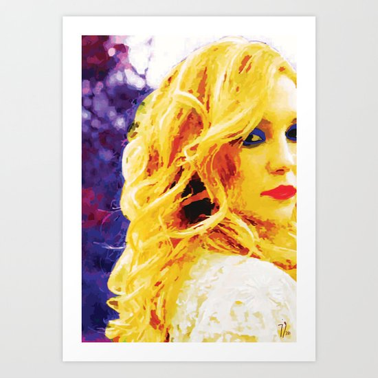 ColorSplash Art Print